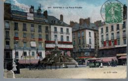- FRANCE (44) - CPA COLORISEE Ayant Voyagé NANTES 1925 - La Place Royale - Editon F. CHAPEAU N° 537 - - Nantes
