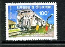 Côte D´Ivoire 1980 Y&T 541 ** - Côte D'Ivoire (1960-...)