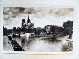 Post Card Sent From France 1949 Atm Machine Special Cancel Paris - France