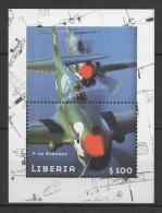 Liberia (2001) Yv. Bf. 438  /  Airplane - Avion - Aircraft - World War II - Avions