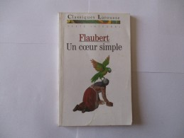 Livre Poche FLAUBERT Un Coeur Simple - Theatre