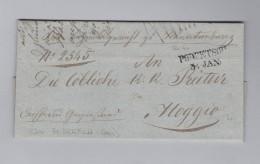 Heimat Slovenien PODRETSCH 1849-10-30 Vorphila Brief Nach Moggio - Slovénie