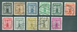 REICH - Dienstmarken - Mi Nr 144/154 - Gest./obl. - Cote 55,00 - Servizio
