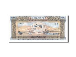 Cambodge, 50 Riels, 1956-1958, Undated (1956-1975), KM:7c, SPL - Cambodia