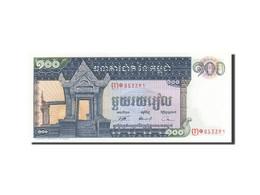 Cambodge, 100 Riels, 1962-1963, Undated (1963-1972), KM:12b, NEUF - Cambodia