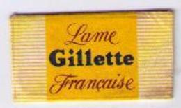 LAMETTA DA BARBA - LAME GILLETTE FRANCAISE  - ANNO ? - Lamette Da Barba