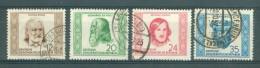 D.D.R. - Mi Nr 311/314 - Gestempeld/oblitéré - Cote 45,00 € - Gebruikt