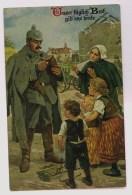 Duitse Kaart: Geef Ons Ons Dagelijks Brood - Patriotiques