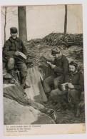 Crasse-croûte Dans La Tranchée - Guerre 1914-18