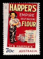 Australia 2014 Nostalgic Advertisements 70c Harpers Flour Used - 2010-... Elizabeth II