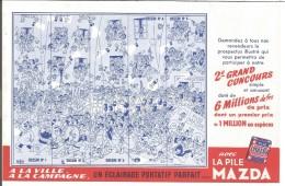 BUVARD PILE MAZDA - 2 EME GRAND CONCOURS - Blotters