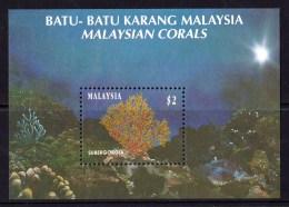 Malaysia 1992 Corals Minisheet MNH - Malaysia (1964-...)