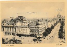 ANTWERPEN / OPERA / GRAND HOTEL / GARE CENTRAL / SUIKERUI / UITGIFTE GRAND HOTEL - Antwerpen