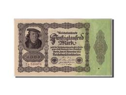 Allemagne, 50,000 Mark, 1922, KM:79, 1922-11-19, SUP+ - [ 3] 1918-1933 : Repubblica  Di Weimar