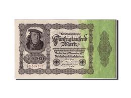 Allemagne, 50,000 Mark, 1922, KM:79, 1922-11-19, SPL - [ 3] 1918-1933 : Weimar Republic