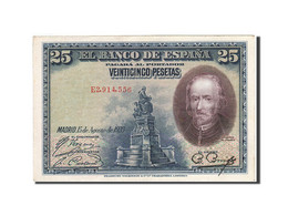 Espagne, 25 Pesetas, 1928, KM:74b, 1928-08-15, TTB+ - [ 1] …-1931 : Primeros Billetes (Banco De España)