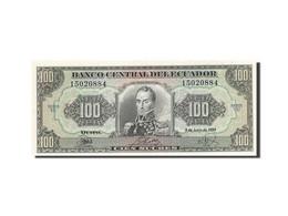 Équateur, 100 Sucres, 1984-1988, KM:123Aa, 1988-06-08, SPL - Ecuador