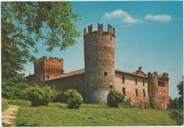 R2554 Castelnovo Di Borgonovo Val Tidone (Piacenza) - Il Castello - Castle Chateau Schloss Castillo / Non Viaggiata - Italia