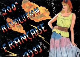 MARIANNE - Bonnet Phrygien - Révolution Française - Anniversaire - Illustrée Par SIZLER - Evènements