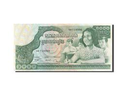 Cambodge, 1000 Riels, 1973, Undated, KM:17, NEUF - Cambodia
