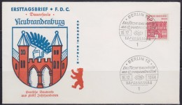 8108. Berlin 1964 Neubrandenburg, FDC (First Day Cover) Ersttagsbrief - FDC: Covers