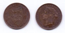 Jersey 1/12 Shilling 1881 - Jersey