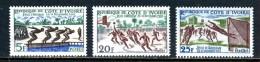 Côte D´Ivoire 1961 Y&T 201/203 ** - Côte D'Ivoire (1960-...)