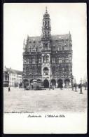 CPA ANCIENNE- BELGIQUE- AUDENARDE- L'HOTEL DE VILLE DE FACE EN 1900- TRES GROS PLAN ANIMÉ- - Oudenaarde