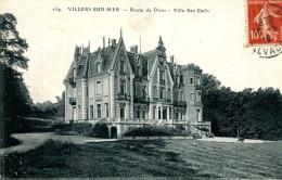N°342 F -cpa Villers Sur Mer -route De Dives -villa San Carlo- - Villers Sur Mer