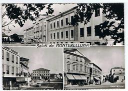 MONTEBELLUNA:  SALUTI  DA ... -  VISIONI  -  FOTO  -  FG - Treviso