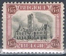 Année 1920  COB 182**  - Hôtel De Ville De Dendermonde - Cote  2,00€ - Unused Stamps