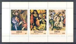 MR003 KUNST ART GODSDIENST RELIGION SANDA ISLAND SCOTLAND PF/MNH - Lokale Uitgaven