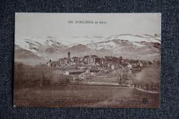 PUIGCERDA  En Hiver - Espagne
