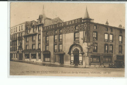 55 VERDUN Hotel Du Cocq Hardi , Avenue De La Victoire , Façade Hôtel - Verdun