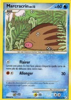 Carte Pokemon 123/146 Marcrassin 60 Pv 2009 - Pokemon