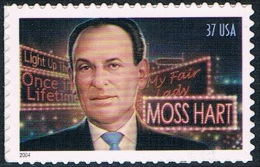Etats-Unis - Moss Hart, Auteur Dramatique 3604 ** - Stati Uniti