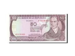 Colombie, 50 Pesos Oro, 1982-1984, 1985-01-01, KM:425a, SPL - Colombia