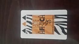 South Africa-(saf-4-01)-africa 95-urmet Card Mint-(100units)-tirage-1000+2card Prepiad Free - Suráfrica