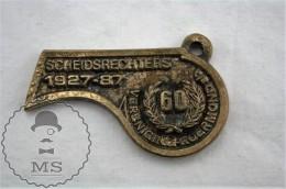 Vintage Netherlands Sport Medal - Scheidsrechters 1927 - 1987 - 60 Anniversary - Vereniging Roermond - Handball