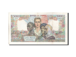 France, 5000 Francs, 5 000 F 1942-1947 ''Empire Français'', 1947, 1947-01-02... - 1871-1952 Anciens Francs Circulés Au XXème