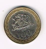 °°°  CHILI  100  PESOS   2005 - Chili