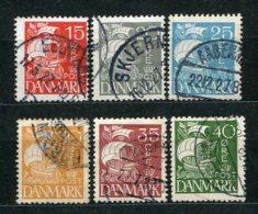 Dänemark Nr.168/73          O  Used       (271) - 1913-47 (Christian X)