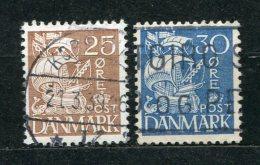 Dänemark Nr.208/9 I          O  Used       (281) - 1913-47 (Christian X)