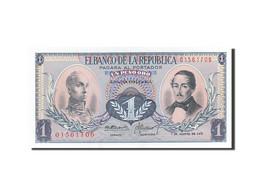 Colombie, 1 Peso Oro, 1959-1960, 1973-08-07, KM:404e, SPL - Colombie