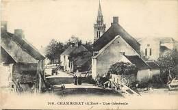 -ref- L718 - Allier - Chamberat - Vue Generale - Carte Bon Etat - - Autres Communes