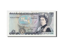 Grande-Bretagne, 5 Pounds, Non Daté (1971-91), KM:378b, SUP+ - 1952-… : Elizabeth II