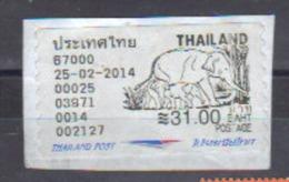 Frankeervignetje - Thaïlande