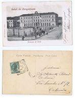 CAMPOBASSO - PALAZZO DI CITTA' - EDIZIONE ALTEROCCA - 1907 - Campobasso