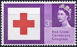 Great Britain 1963 - Centenary Of International Red-Cross ( Mi 362x - YT 378 ) MNH ** - Croix-Rouge