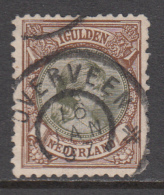 The Netherlands Used NVPH Nr 46 From 1893 / Catw 30.00 EUR - 1891-1948 (Wilhelmine)